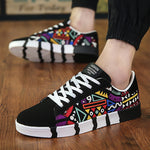 OBBVY-Canvas Shoes Fashion Totem Shoes Graffiti Sneaker