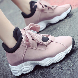 OBBVY-Casual Platform Sneakers