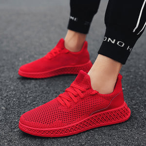 OBBVY-Men's Mesh Sports Shoes Breathable Sneaker