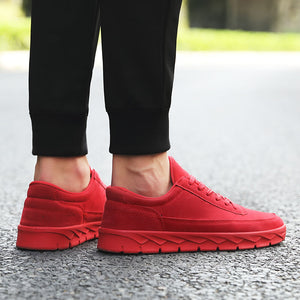 OBBVY-Lightweight Skateboard Sneakers Trendy Casual Shoes