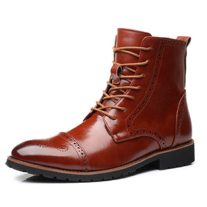 6beeae585f26 OBBVY-Bullock Carved Boots Size EU38-48 – obbvy