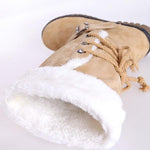 OBBVY-Large Size Thick Snow Boots