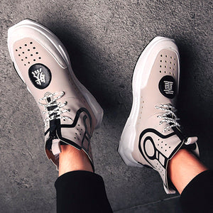 Fashion Trend-Men's Sneakers Retro Style Casual Shoes