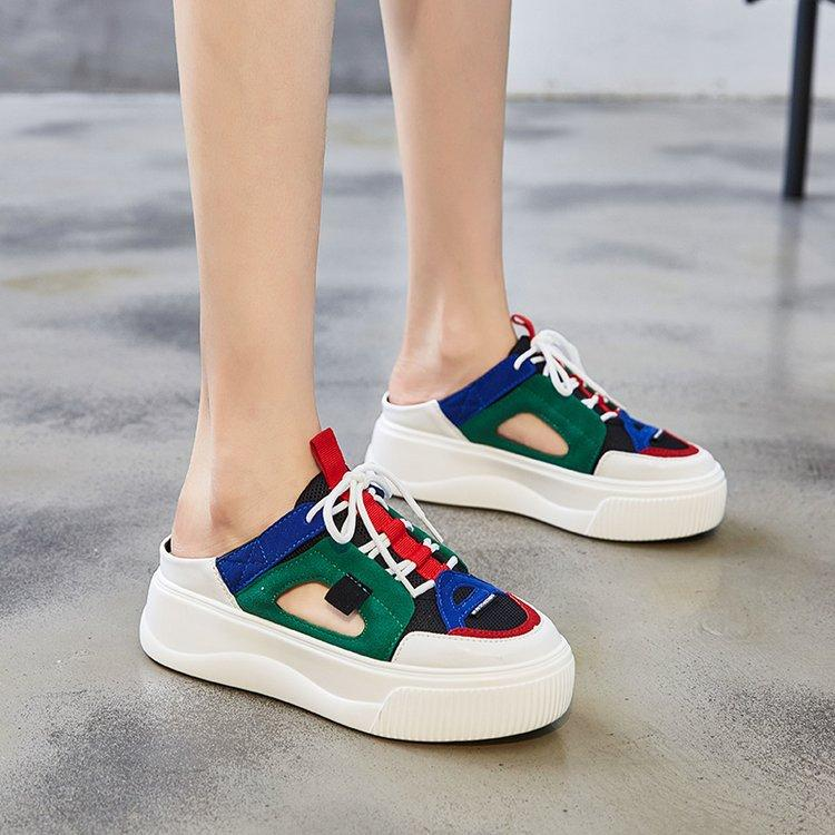 Muffin platform casual shoes Lazy shoes