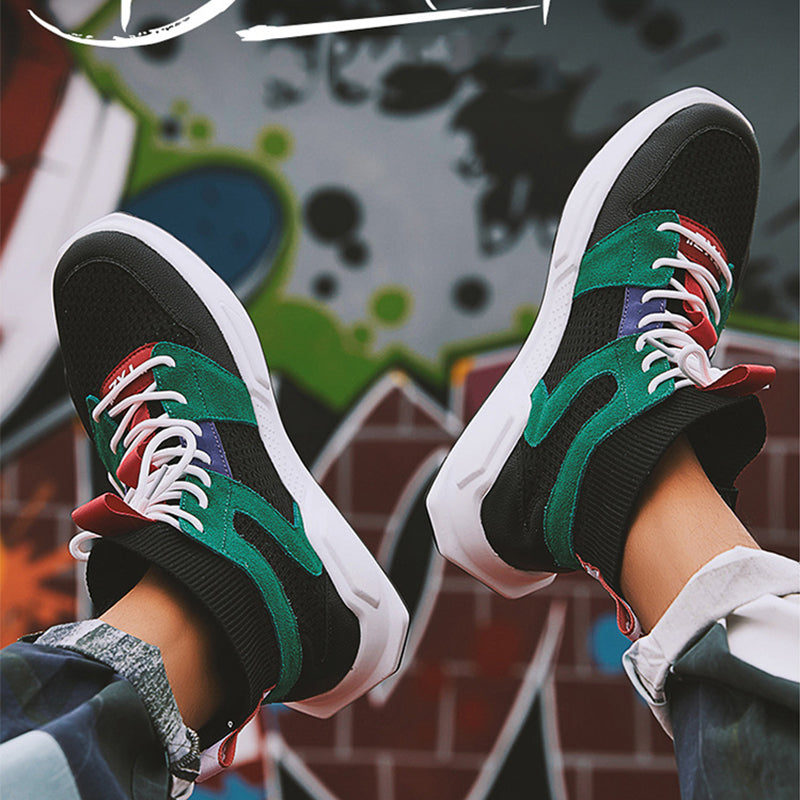 Fashion Trend-Hip Hop Shoes Men's Sneakers Stylish Footwear