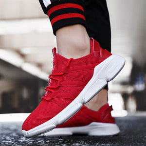 OBBVY-Mesh Breathable Sneakers Ultra Size US6.5-12/EU39-48 Sports Shoes Super Soft Comfortable