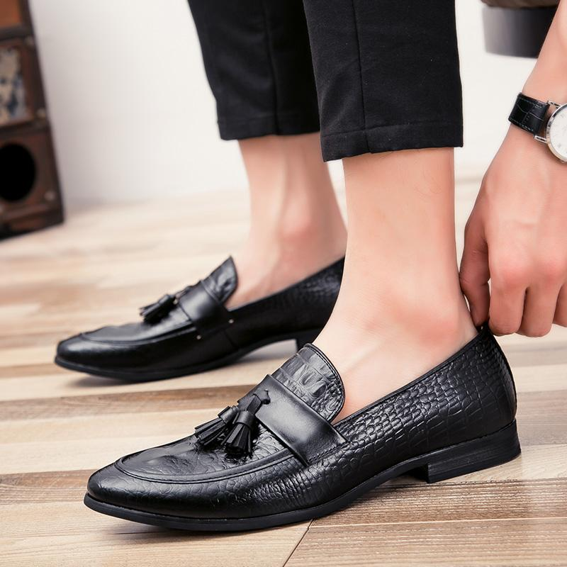OBBVY-New Men's Leather Shoes