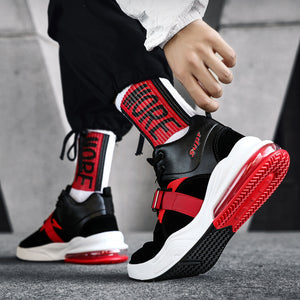 OBBVY-Sports Cushion Running Shoes New High-top Sneakers Large Size EUR39-47 Men's Shoes