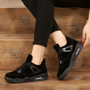 Enjoy Your Outdoors-Women's Sneakers Invisible Increased Height Sports Shoes