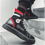 OBBVY-High-top Canvas Shoes Men's Casual Shoes