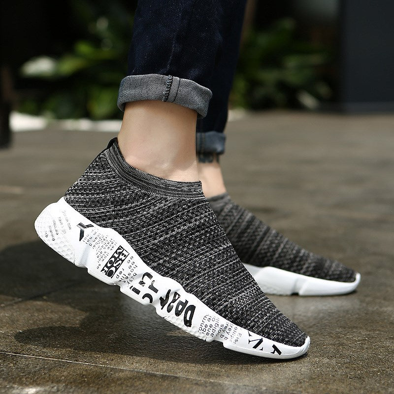 OBBVY-2018 Camouflage Graffiti Sneakers Breathable Casual Shoes Net Running Shoes