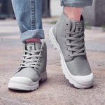 OBBVY-2018 New Unisex  Hight-top  Canvas Shoes Size US5-13/EU36-47