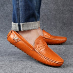 OBBVY-Super Soft Loafers Comfortable Leather Shoes Ultra Size Casual Shoes EU39-49/US6.5-12.5