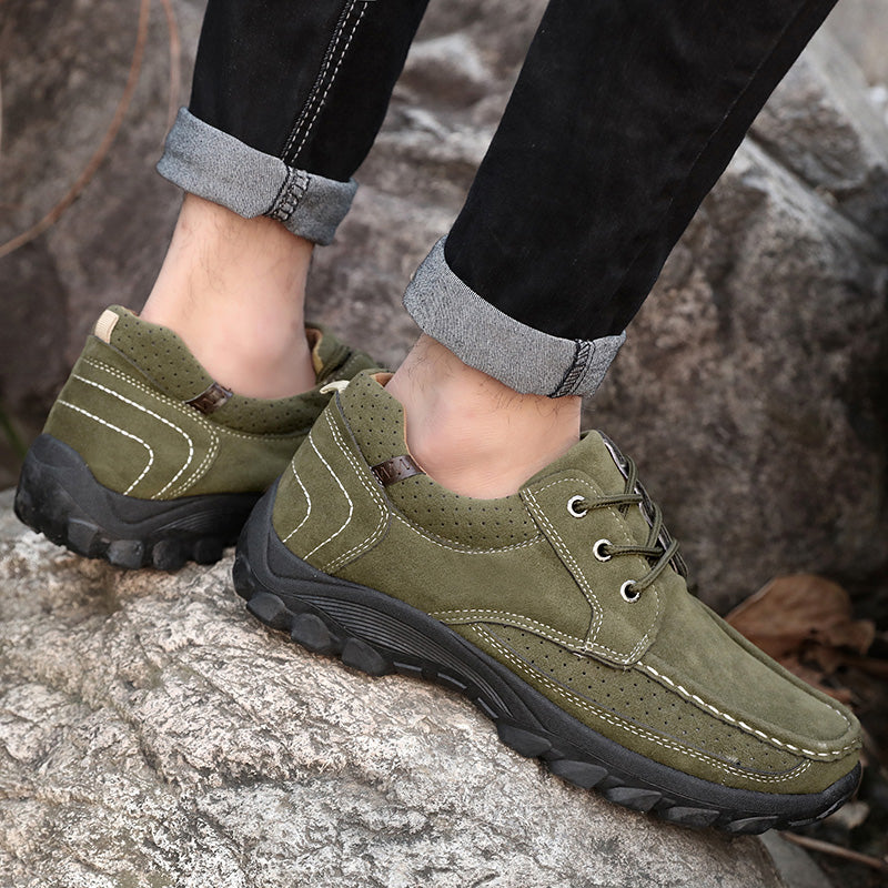OBBVY-Hiking Shoes Sports Shoes Men's Sneaker Travel Shoes