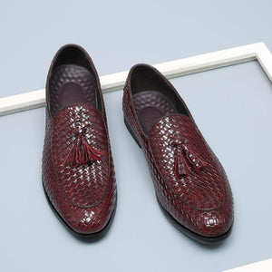 OBBVY-Fashion Shoes-Casual Fringed Men's Shoes