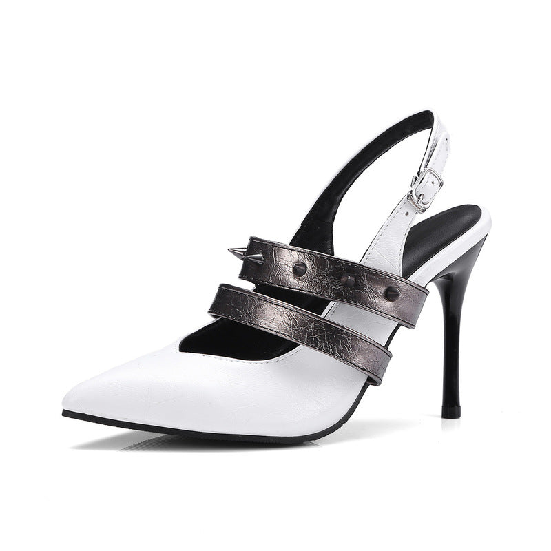 OBBVY-Sexy Buckle Sandals Size EU34-43