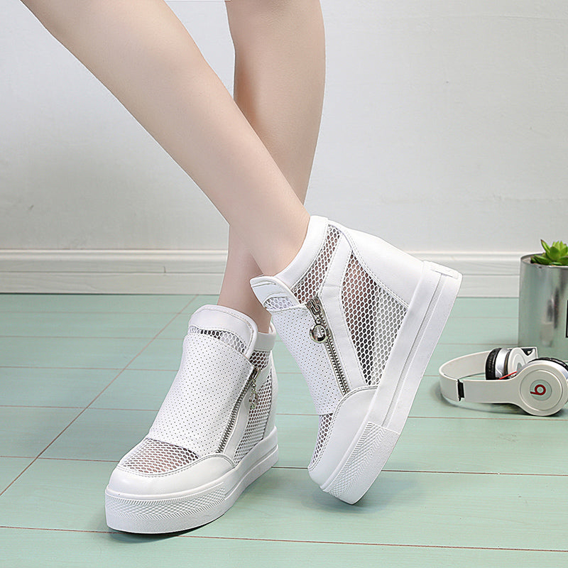 OBBVY-Women's Summer Wedge Sports Shoes