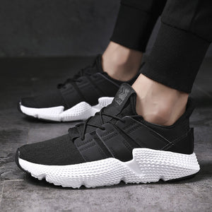 8a0a58e7e OBBVY-Hot Sale Sneakers Breathable Lightweight Sports Shoes Size  US6.5-12/EU39-46 - black/white - US6.5/EU39