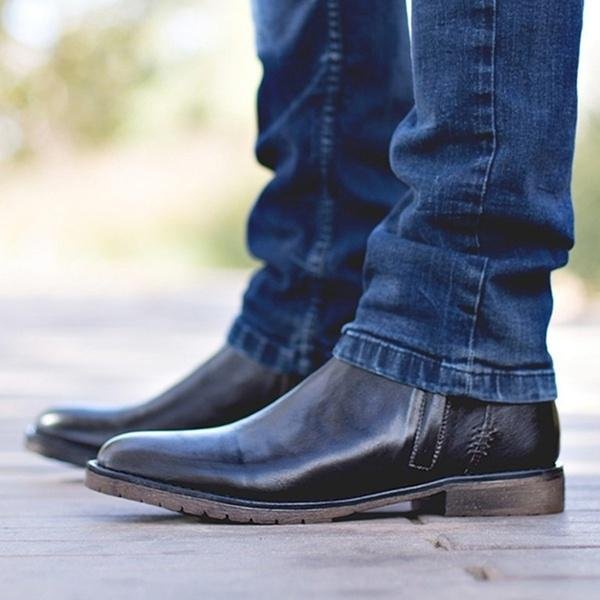 OBBVY-Men's Ankle Boots