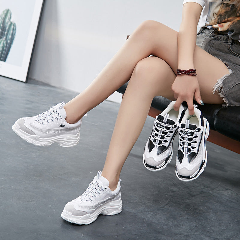OBBVY-Harajuku Retro Sneakers Clunky Sneaker