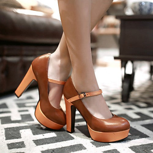 OBBVY-High Heel Pump Shoes Size EU34-43