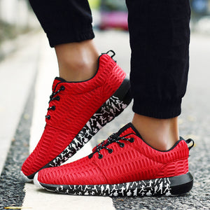 OBBVY-Mesh Sneakers Breathable Sports Shoes Size US6.5-13/EUR39-47