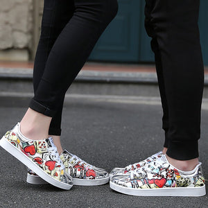 OBBVY-Lovely Print Casual Shoes Unisex Sneaker Size US5-12/EU36-46