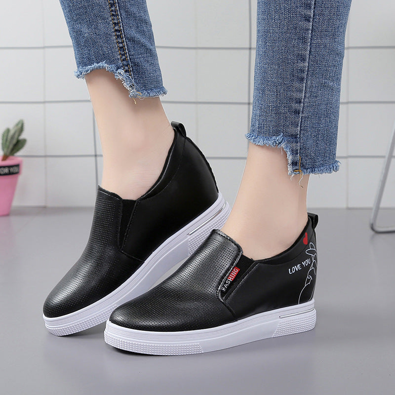 OBBVY-Ladies Simple Loafers