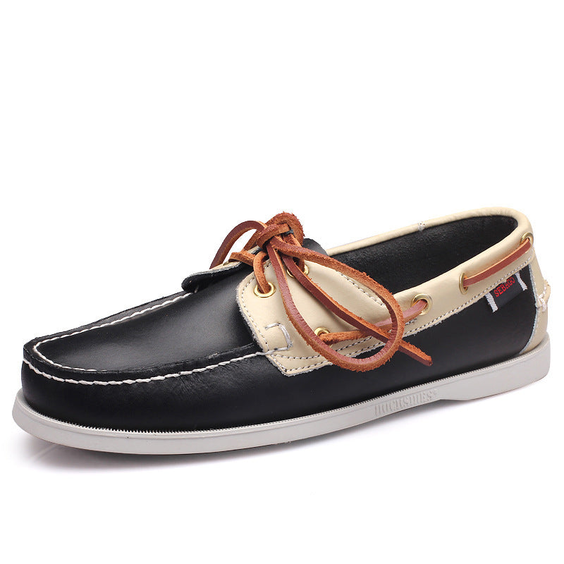 OBBVY-Casual Loafers Stylish Formal Shoes Retro Trend