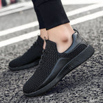 OBBVY-Mesh Breathable Loafers Soft Sneaker