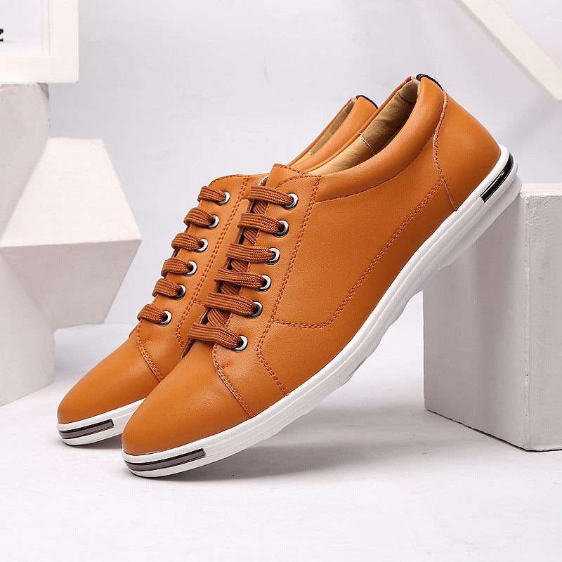 OBBVY-Casual Leather Shoes Size EU39-48