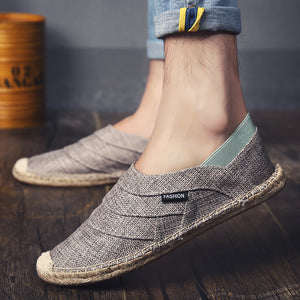 OBBVY-Cloth Loafers