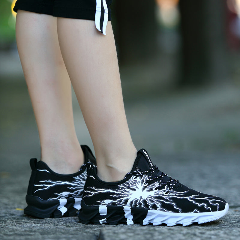 OBBVY-Cool Pattern Sports Shoes Unisex Breathable Sneakers Size US5-11/EU36-45