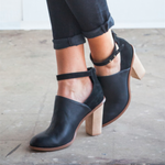 OBBVY-Fashion High Heel Booties