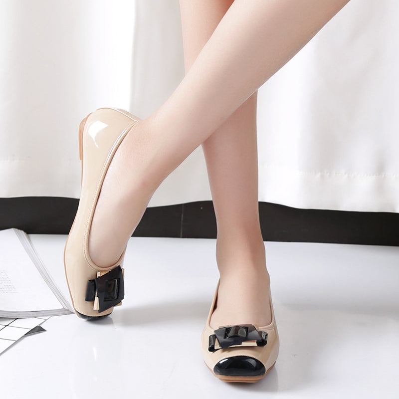 OBBVY-Fashion Candy Color Square Head Single Shoes