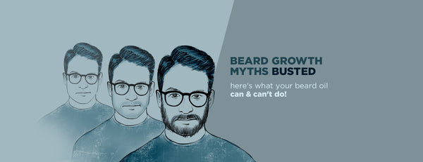 Beard growth myths BUSTED!