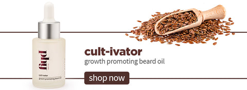 Cult-ivator Growth Promoting Beard Oil