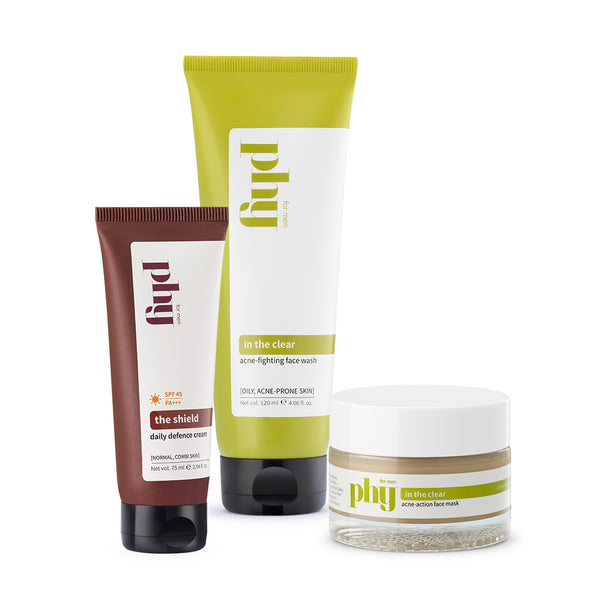 Oily Skin Go-To Trio: Exclusive