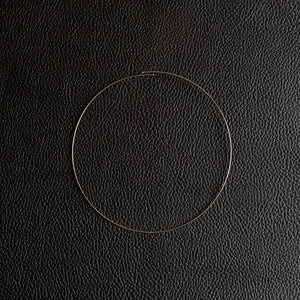 1,5 mm Inox Circle | Hoop Necklace