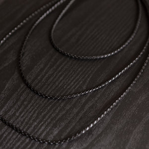 3 mm Braided Leather | Rope