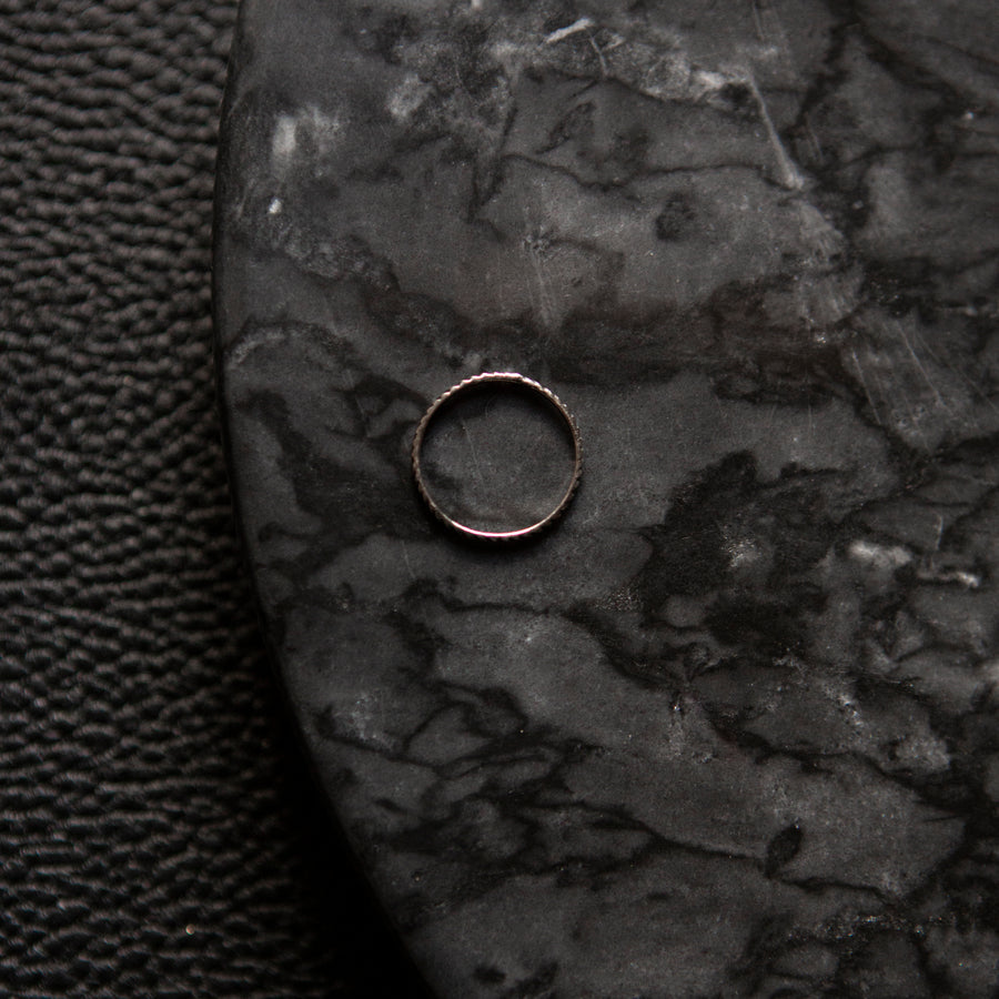 Twisted Circle | Bague