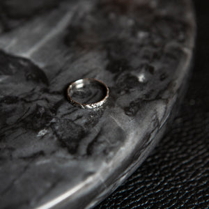 Handcarved Circle | Ring