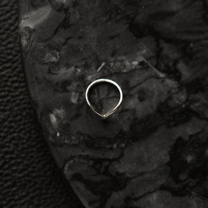 Wide Pointed | Bague