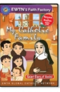 My Catholic Family - St. Clare of Assisi - DVD