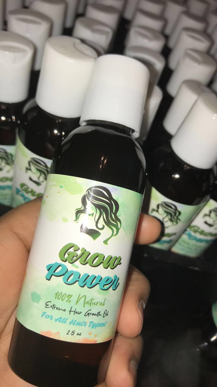 GROW POWER ORGANIC HAIR GROWTH OIL