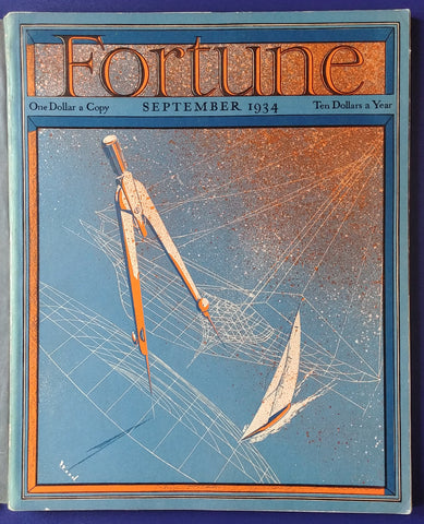 Magazine Fortune, Septembre 1934