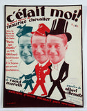 Maurice Chevalier, Lot de 5 partitions
