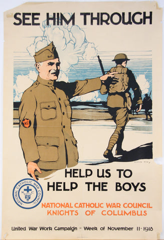See Him Through, 1918