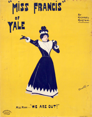 Miss Francis of Yale, 1897