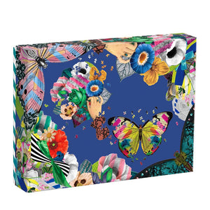 Christian Lacroix Heritage Collection Frivolités Set of 2 Shaped Puzzle Set